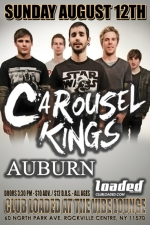 Carousel Kings featuring Once My Way / Auburn / A Risk Worth Taking / Turnkey / The Legend Lives / Dead Air / Secondary / Vendetta For Two