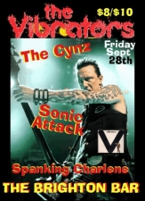The Vibrators (fr. England) / The Cynz / Sonic Attack / Spanking Charlene