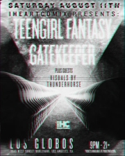 Teengirl Fantasy with Gatekeeper : SFV Acid : Slow Motion DJs : Visuals by Thunderhorse