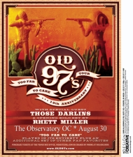 Old 97's with Those Darlins / Rhett Miller