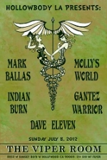 Hollowbody LA Presents Dave Eleven, Empire Kick, Molly's World, Indian Burn, & Mark Ballas