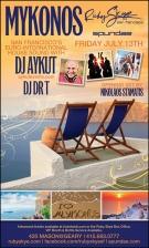 MYKONOS, DJ AYKUT & DJ DR T