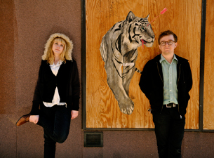 Wye Oak with Callers, Cold Weather