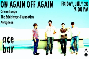 Ormen Lange featuring On Again Off Again / The Bricklayers Foundation / Autophone