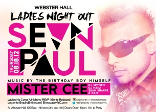 GIRLS NIGHT OUT featuring Sean Paul