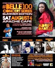 Street Executives present Belle100 Concert Series Summer Edition, featuring Adrift DaBelle
