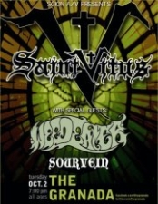 Saint Vitus featuring Weedeater / Sourvein / Death Valley Wolfriders