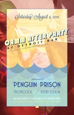 The CAMM After Party with : Penguin Prison dj set , Tropicool & Kedd Cook
