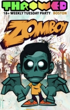 Throwed Electro/Dubstep Dance Party with Zomboy , DJ E-Marce &amp; Texas Mike