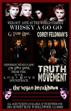 Corey Feldman's Truth Movement plus G Tom Mac & The Vegas Breakdown