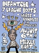 Infantree , Seven League Boots , White Dynomite , The Copacetics
