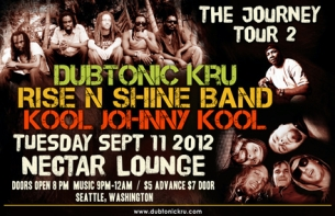 DUBTONIC KRU with RISE N SHINE band