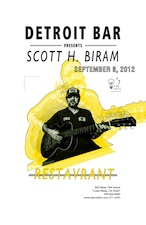 Detroit Bar presents : Scott H. Biram & Restavrant