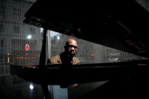 Orrin Evans Trio, with Orrin Evans (piano), Vicente Archer (bass), Obed Calvaire (drums