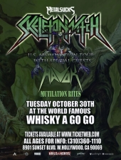 Skeletonwitch featuring Havok / Mutilation Rites