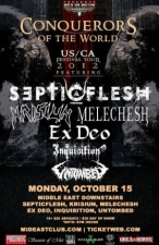 Septicflesh , Krisiun , Melechesh , & more
