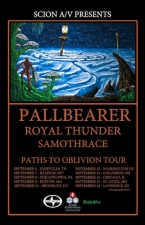 Pallbearer / Royal Thunder / Backs