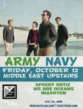 Army Navy featuring Speedy Ortiz , We Are Oceans , InAshton