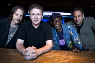 Steve Kimock with Bernie Worrell, Wally Ingram, and Andy Hess plus DJ Dragonfly