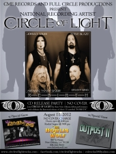 Circle of Light, featuring The Original Members of Lillian Axe FREE SHOW!