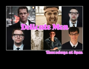 The Delicate Men featuring The Harold teams Meridian and Inkling