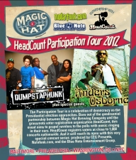 Ivan Neville's Dumpstaphunk and Anders Osborne plus special guests Low Cut Connie : HeadCount Participation Tour 2012 in association with Magic Hat