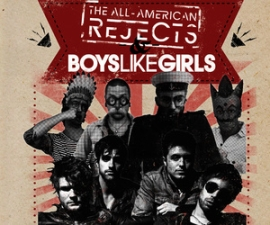 The All-American Rejects & Boys Like Girls with Parachute