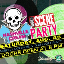 Nashville Cream 's Sixth Anniversary Party featuring Natural Child, Pujol, Wild Cub, Future Unlimited, Sparkle City DJs, Y2K Nashville, Nikki Lane & more