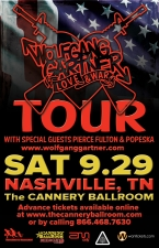 Wolfgang Gartner with special guests Pierce Fulton and Popeska & local support from DJ Oreo and MOVE Go Go Dancers