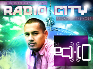 Radio City Fridays featuring DJ Echo / Vinyl Dave