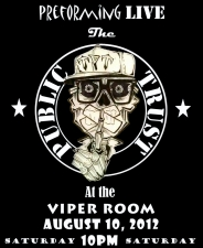The Viper Room Presents: The Public Trust with Little Miss Nasty, The Bronze Swagger, 7 Horse, Swimming in Trees, Ben Levin & The Lonely Drunks Club Band
