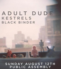 Adult Dude featuring Kestrels / Black Binder
