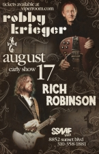 The Viper Room and SSMF Presents: featuring Robby Krieger & Rich Robinson / With Special Guest / The Record Company