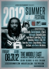 2012 Summer Hip Hop Fest featuring Akrobatik , Dutch ReBelle , & more