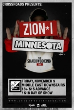 Zion I and Minnesota - The Shadow Boxing Tour with Greyscale