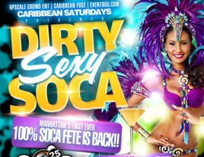 Dirty Sexy Soca, Music by: Back2Basic, Pantrin Vibes, Kevin Crown