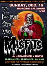 The Misfits with Japanther and Heart of the Matter