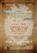 The Reggae Edition featuring Judah Tribe / Brown Rice Family / Under the Rasta Influence
