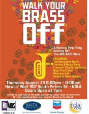 Walk Your Brass Off with The Honorable South, Hot 8 Brass Band, Crescent City Derby Devils and more