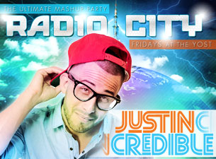 Radio City Fridays featuring Justin Credible / Concrete