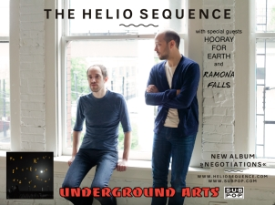 The Helio Sequence with Hooray for Earth and Ramona Falls