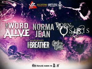 The Word Alive / Born of Osiris / Norma Jean with Special Guests