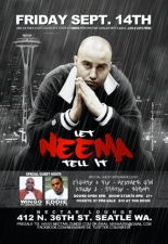 Neema - Live & Unplugged Hosted by Eddie Francis & Wingo of Jagged Edge special appearances Eighty 4 Fly, Heather Gin & Dirtay