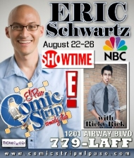 Eric Schwartz with Ricky Rick : Reserved Seats!