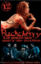 Buckcherry with My Darkest Days