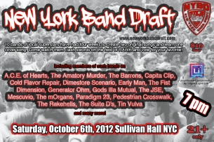 3rd Annual New York Band Draft