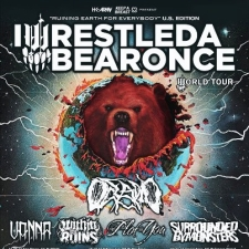 Iwrestledabearonce with Oceano / Vanna / Within the Ruins / The Plot In You / Surrounded by Monsters