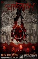 Suffocation with Totality, Sexcrement , Abnormality, Scaphism