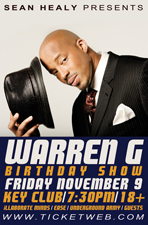 Warren G (Birthday Show)