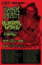 Municipal Waste / Napalm Death with Repulsion / Exhumed / Attitude Adjustment